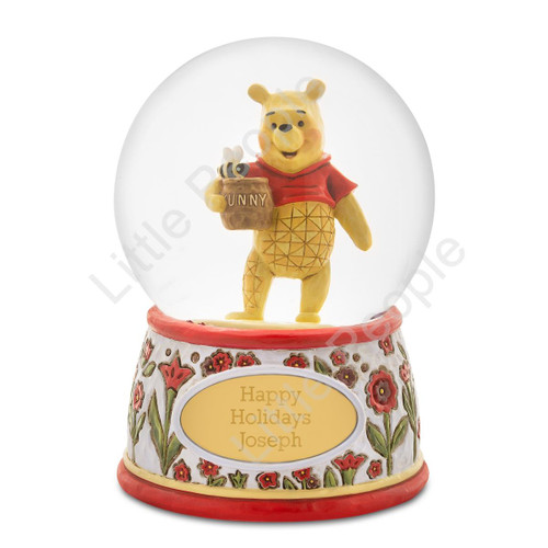 Jim Shore Pooh SnowGlobe Figurine Disney Traditions last 2