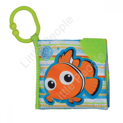 Disney Baby -   NEMO SOFT  ACTIVITY  STORYBOOK NEW TOY