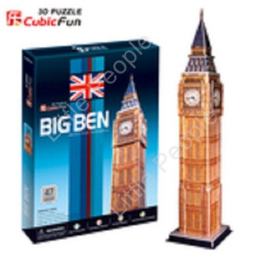 Big Ben 47pc 3D Puzzle NEW FACTORY SEALED