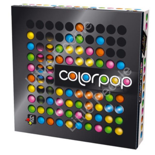 Board Game Gigamic Sarl Color Pop Board Game  Color Pop.   Pop til they drop!