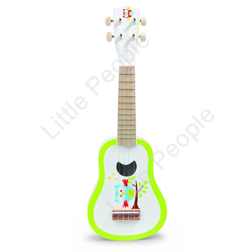 Scratch Owl Ukulele  Cute children's guitar for little musicians