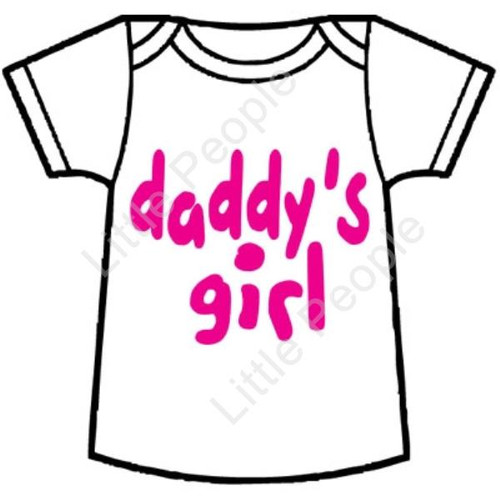 Size 1 Daddy's Girl Baby T-Shirt