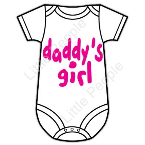 Size 0 Daddy's Girl 6-12mths Baby Grow Suit