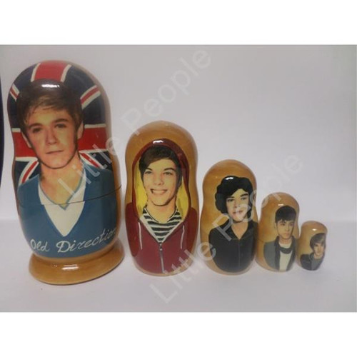 Russian Doll Wooden Matryoshka Babushka - Personalities - One Direction