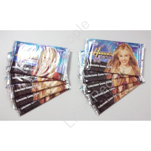 Disney Hannah Montana Collectable Game Cards 10 Packets