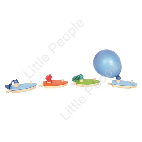 Kids Balloon Helicopter Party Bag Filler Flying Toy x 18