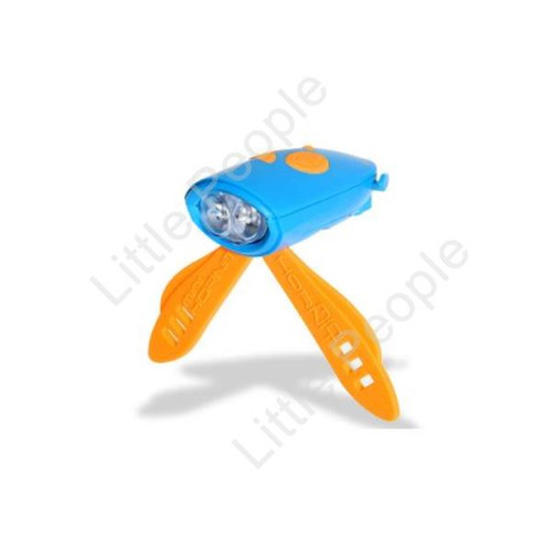 Bicycle Bell with lights & sound effects Blue and Orange 