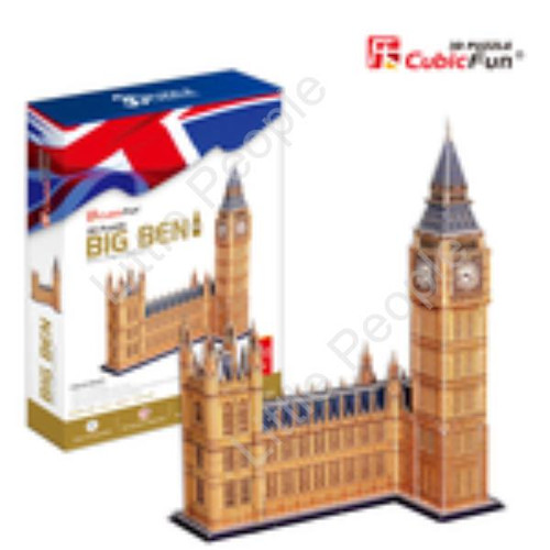 Big Ben, 117pc 3D Puzzle NEW FACTORY SEALED