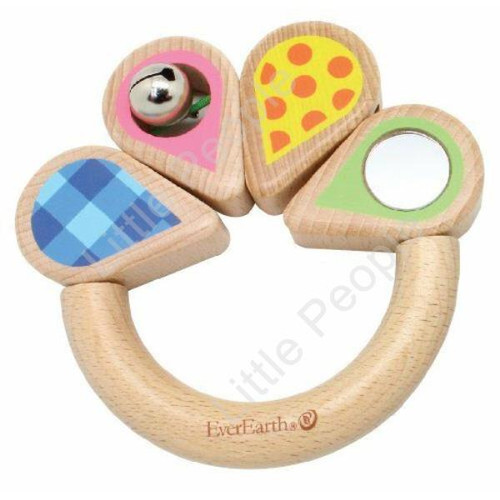 EverEarth handheld Grasping Ring Kids Pretend Play Eco-Friendly