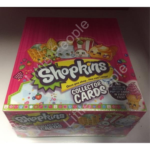 Shopkins (Seasons 1&2) Trading Card Game Full Booster Box