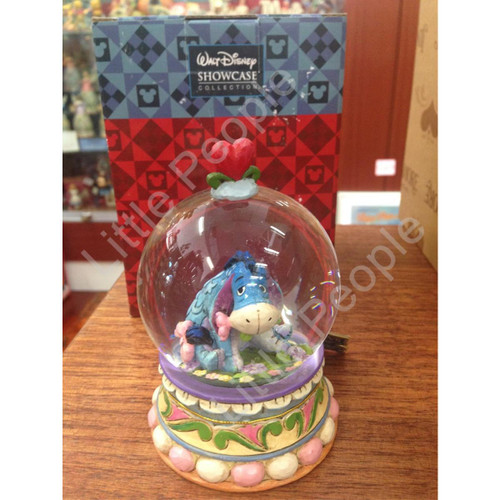 Disney Jim Shore Gloom To Bloom-Eeyore Waterball Snowglobes Collectable New