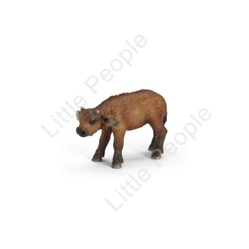 Schleich - African buffalo calf Figurine Figure Zoo Wild Animal Toy