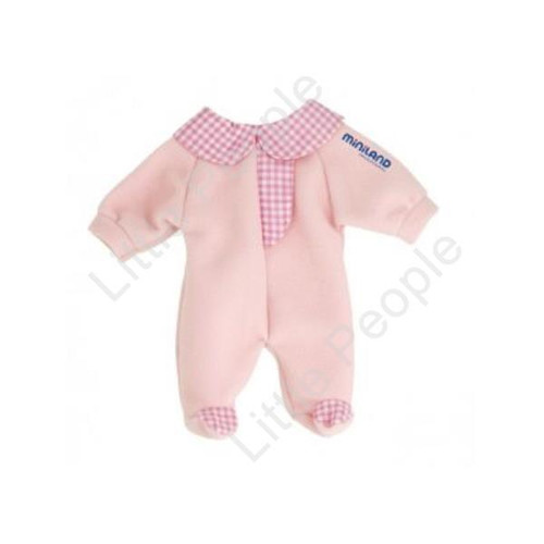 Miniland - Baby Doll Pink Romper 40cm to 42cm Dolls
