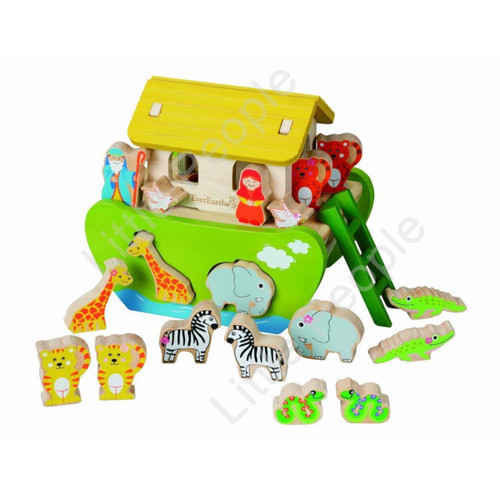 Shape Sorting Noah's Ark By Ever Earth