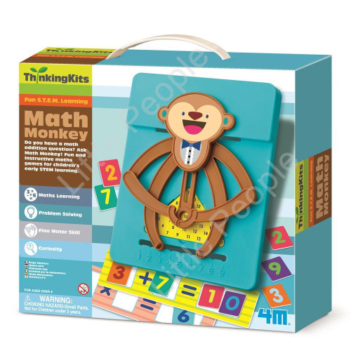 4M - ThinkingKits - Math Monkey Educational and Fun too