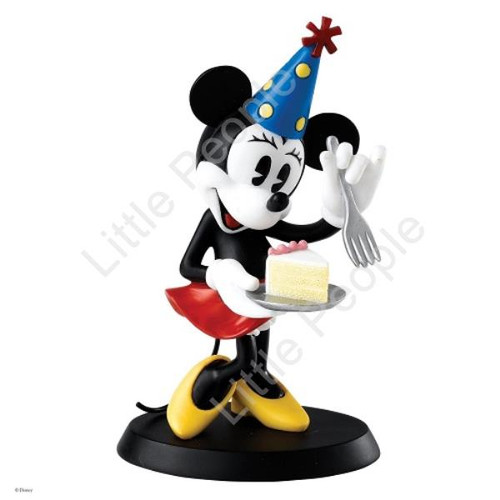 Disney Enchanting Collection Party Time Minnie Mouse Figurine