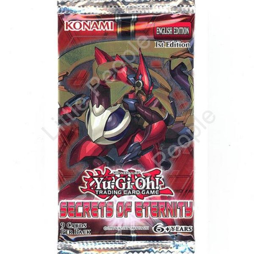 Yu-Gi-Oh TCG Cards - Secrets of Eternity - Booster Pack
