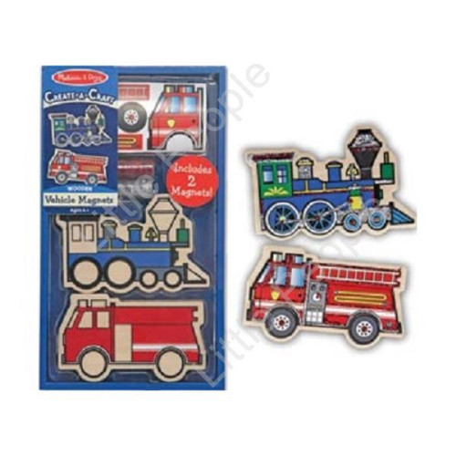 Melissa and Doug Design Your Own Vehicles Magnets