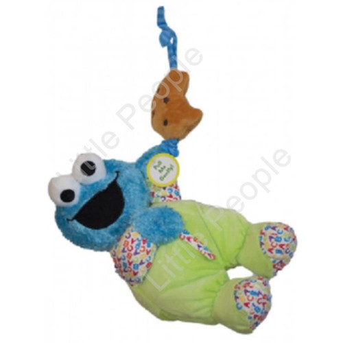 Sesame Street - COOKIE MONSTER MUSICAL PULL TOY NEW BABY retired