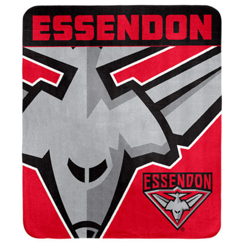 Essendon Bombers Polar Fleece Throw