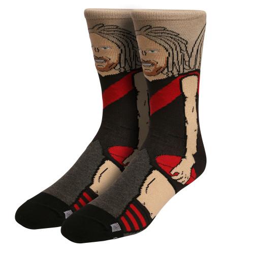 Essendon Bombers Heppell Adults Nerd Socks
