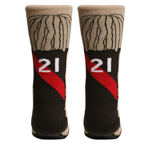 Essendon Bombers Heppell Adults Nerd Socks