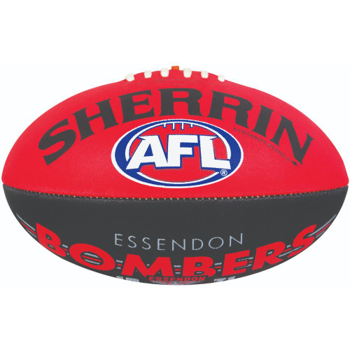 Essendon Bombers Sherrin Synthetic Size 5
