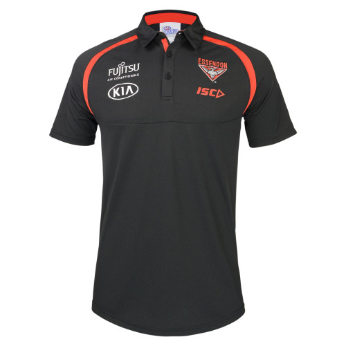 Essendon Bombers 2018 Mens Performance Polo