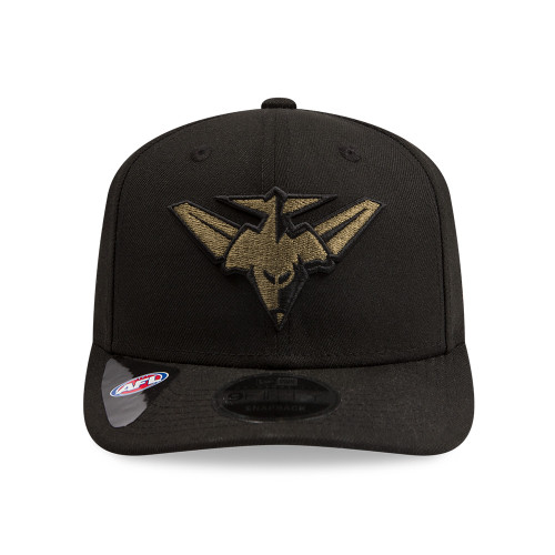 Essendon Bombers 2020 New Era Black/Olive 950 Pre-Curved Snapback