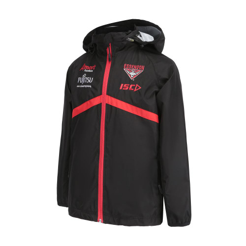 Essendon Bombers 2019 ISC Kids Wet Weather Jacket