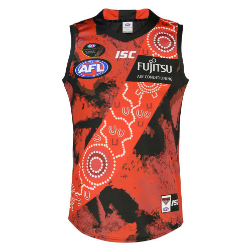 Essendon Bombers 2019 Mens Indigenous Guernsey