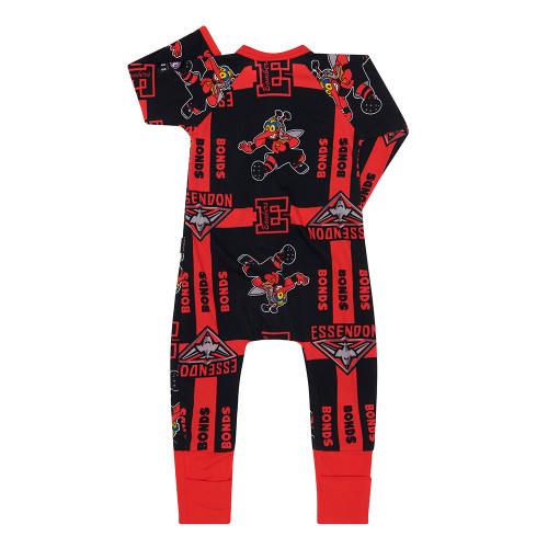 Essendon Bombers 2020 Bonds Infants Wondersuit