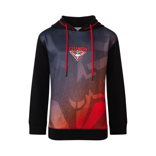 Essendon Bombers 2020 Kids Sublimated Hood