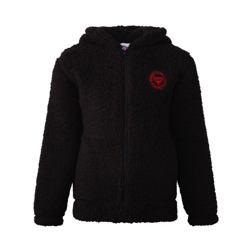 Essendon Bombers Kids Sherpa Fleece Jacket Hoody