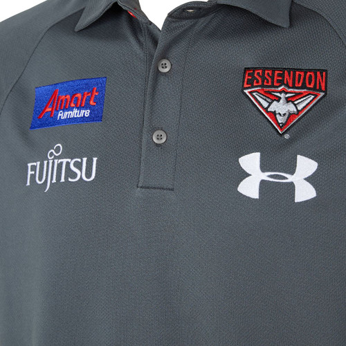 Essendon Bombers 2020 UA Womens Pre Season Polo