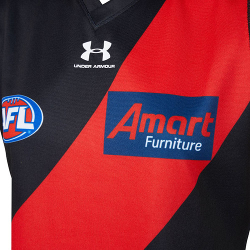 Essendon Bombers 20/21 UA Mens Home Guernsey