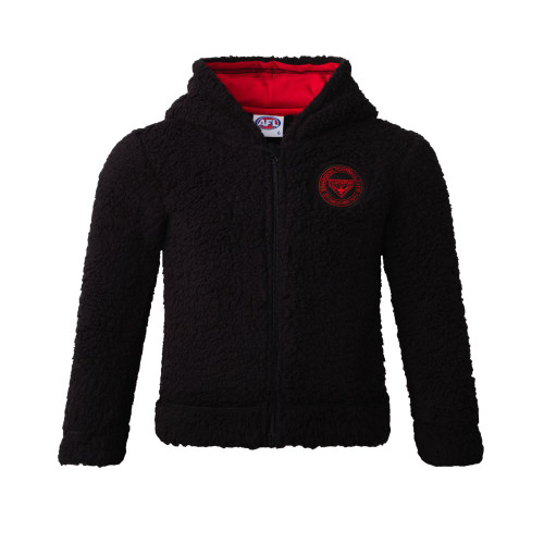 Essendon Bombers 2020 Toddlers Sherpa Hood
