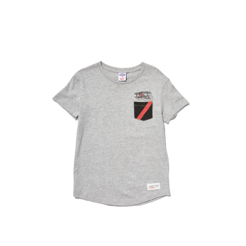 Essendon Cotton:On Kids Pocket Tee