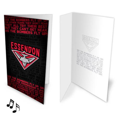 Essendon Musical Card