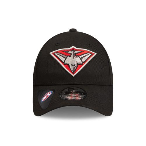 Essendon New Era 940 Team Logo Cap Black