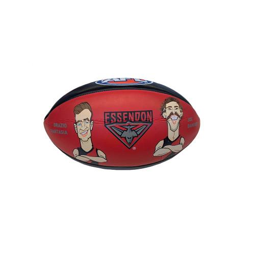 Essendon Sherrin Cartoon Football