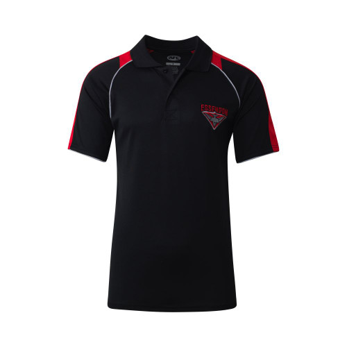 Essendon Adults Essentials Polo