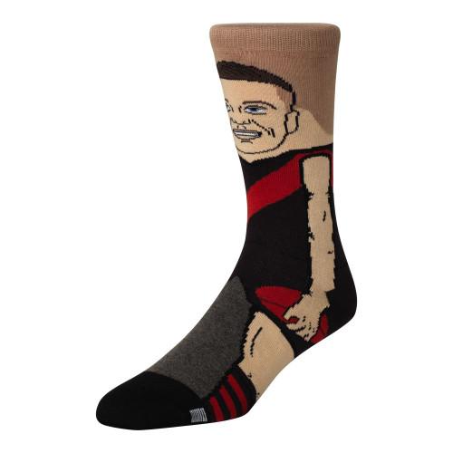 Essendon Conor McKenna Kids Nerd Socks