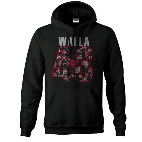 Essendon Walla 43 Adults Hoody