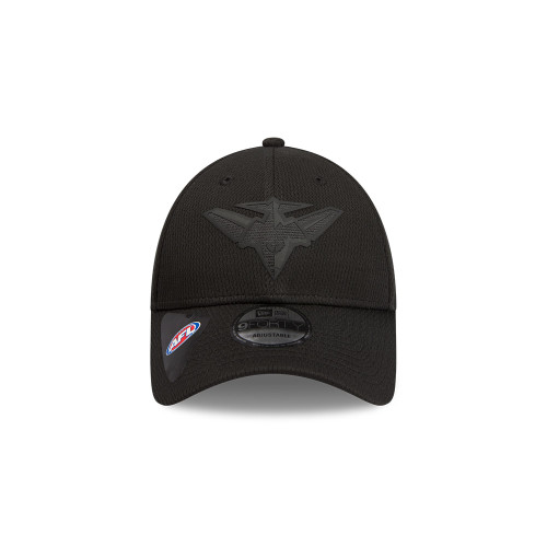 Essendon New Era Black on Black 9FORTY Snapback