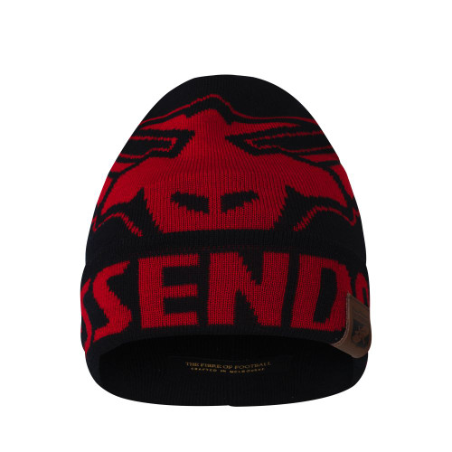 Essendon Merino Wool Fanatic Beanie