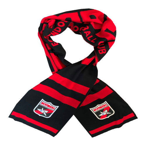 Essendon Merino Wool Flashback Scarf