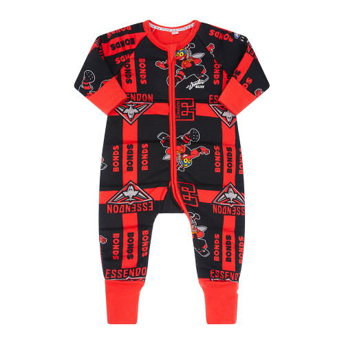Essendon Bonds Baby Padded Wondersuit