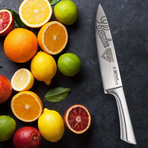 Essendon Baccarat Damashiro Chefs Knife 20cm
