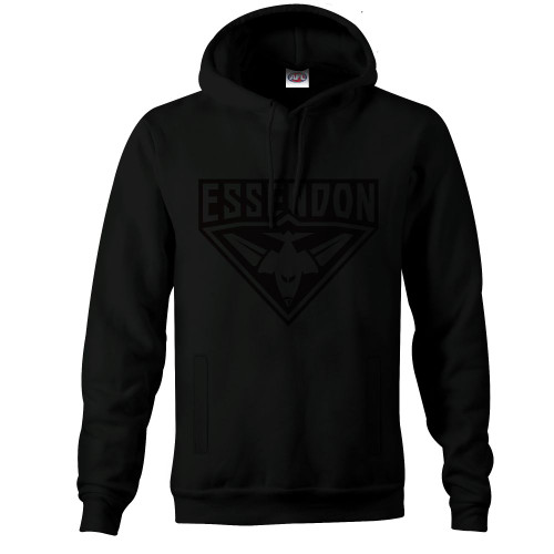 Essendon Adults Stealth Hoody